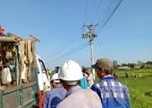 Sửa đường điện cao thế khi chưa cắt điện, nam công nhân tử vong