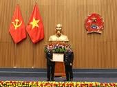 Đồng chí Bùi Mạnh Cường được tặng thưởng Huân chương Lao động hạng Nhì