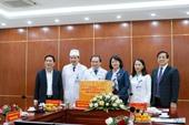 Phó Chủ tịch nước Đặng Thị Ngọc Thịnh thăm, làm việc tại Bệnh viện Trung ương Thái Nguyên