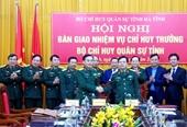 Công bố quyết định về công tác cán bộ quân đội tại 3 địa phương