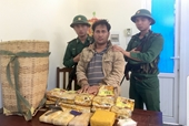 Bắt thanh niên người Lào vận chuyển 10kg ma túy đá, 20 000 viên ma túy