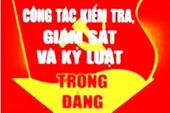 Phú Yên kỉ luật 2 tổ chức đảng và 116 đảng viên