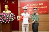 Cục phó Cục Cảnh sát kinh tế làm Phó Giám đốc CA tỉnh Bà Rịa - Vũng Tàu