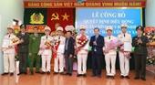 Công an huyện Hương Sơn điều động 20 Công an chính quy về 8 xã