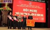 VKSND Thừa Thiên - Huế triển khai công tác năm 2020 và đón Cờ thi đua của Chính phủ