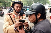 Hà Nội đã xử phạt 84 trường hợp vi phạm nồng độ cồn