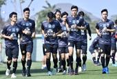 U23 Thái Lan lộ đội hình chính thức trước giải U23 châu Á