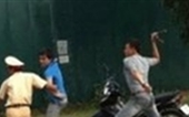 Bắt giam đối tượng dùng dao tấn công CSGT