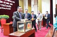 Thành phố Hạ Long bầu các chức danh lãnh đạo chủ chốt sau khi sáp nhập