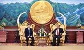 Viện trưởng VKSND tối cao Lê Minh Trí tiếp kiến lãnh đạo Đảng, Nhà nước Lào
