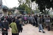 NÓNG Thông tin 5 cán bộ chiến sĩ Công an hy sinh ở Đồng Tâm là sai sự thật