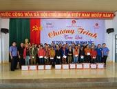 """Công đoàn VKSND tối cao trao quà """"Chung vui ngày Tết"""" tại huyện biên giới"""