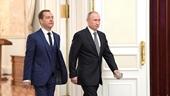Thủ tướng Medvedev tuyên bố toàn bộ Chính phủ Nga từ chức