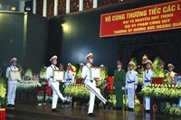 Tổ chức trọng thể Lễ truy điệu 3 sĩ quan Công an hy sinh ở Đồng Tâm
