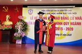 Đại học Kiểm sát Hà Nội Trao bằng tốt nghiệp cho 373 tân cử nhân