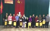VKSND tỉnh Hà Tĩnh tặng quà Tết cho người nghèo