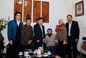 Viện trưởng Lê Minh Trí thăm, chúc Tết các đồng chí nguyên lãnh đạo VKSND tối cao