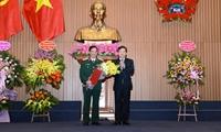 Bổ nhiệm Phó Viện trưởng VKSND tối cao, Viện trưởng Viện kiểm sát quân sự Trung ương