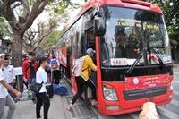 ĐH Nha Trang tổ chức chuyến xe nghĩa tình đưa gần 400 sinh viên về quê ăn Tết