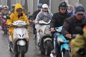 Miền Bắc đón không khí lạnh tăng cường, Hà Nội chuyển mưa rét