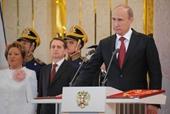Putin trình dự thảo hiến pháp mới lên Quốc hội Nga