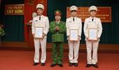 100 số xã huyện miền núi, biên giới Hương Sơn có Công an chính quy