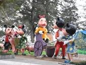 Độc đáo gia đình chuột khổng lồ du Xuân, đón Tết tại Hải Phòng
