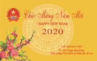 Viện trưởng VKSND tối cao chúc mừng năm mới, Xuân Canh Tý 2020