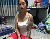 Bắt hot girl xăm trổ cùng nhân viên bán ma túy trong karaoke