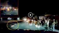 Băng qua đường trong đêm, cụ bà bị xe khách tông tử vong