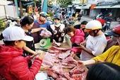 Đà Nẵng có 16 điểm bán thịt heo bình ổn giá dịp tết