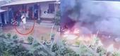 Vác xăng đến nhà châm lửa thiêu vợ cũ trong chiều 28 Tết