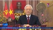 Tổng Bí thư, Chủ tịch nước Nguyễn Phú Trọng chúc Tết
