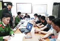 Hà Tĩnh bắt giữ hơn 100 đối tượng đốt pháo đêm giao thừa