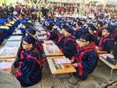 Khai bút đầu xuân chính là giáo dục những nét văn hóa truyền thống