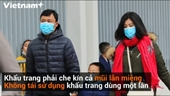 Cách tự bảo vệ bản thân trước dịch viêm phổi do virus corona