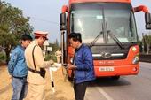 Hà Tĩnh, Quảng Bình tăng cường xử lý xe khách sau Tết