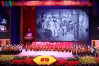 Lễ kỷ niệm cấp quốc gia 90 năm ngày thành lập Đảng