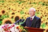 Toàn văn bài diễn văn của Tổng Bí thư, Chủ tịch nước Nguyễn Phú Trọng