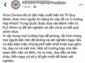 Bình Định bác thông tin có dịch corona tại Quy Nhơn