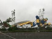 Vi phạm quy định về cưỡng chế công viên nước Thanh Hà Phá dỡ thay vì tháo dỡ