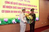 Bổ nhiệm Phó Thủ trưởng Cơ quan An ninh điều tra Công an TP Hà Nội