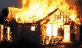 BÀNG HOÀNG Cha châm lửa đốt nhà, 3 cha con chết cháy
