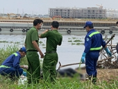 Thi thể có hình xăm trăng mờ bên suối chết trôi trên sông Sài Gòn