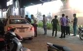 Truy tìm hung thủ đâm thủng phổi tài xế xe taxi