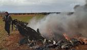 Máy bay trực thăng của Quân đội Syria bị bắn rơi