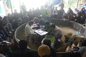 """60 cảnh sát bắt sới gà """"siêu khủng"""" ở Bắc Giang"""