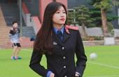 """Nữ sinh tài sắc Đại học Kiểm sát Hà Nội """"Hạnh phúc là sẻ chia"""""""