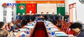 VKSND huyện Tân Kỳ Triển khai công tác và ký kết giao ước thi đua cụm 3