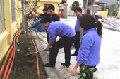 VKSND huyện Thái Thụy xây dựng cảnh quan môi trường ngày càng xanh, sạch, đẹp